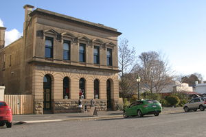 Clunes Old State Savings Bank now Gold Fossicing Tours