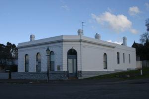 Old Union Bank Building now Arts Centre